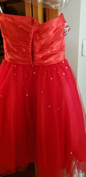 Red sequins jr prom dress for Sale in Euclid, OH