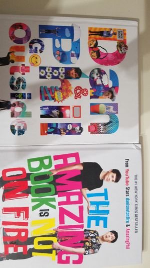 YouTube Dan and Phil - The Amazing Book is Not On Fire, Dan and Phil Go Outside for Sale in Milpitas, CA