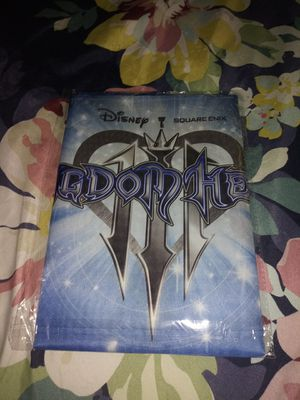Kingdom Hearts 3 fabric poster for Sale in Tampa, FL