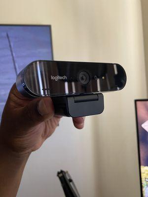 Logitech Brio 4K Webcam for Sale in Midlothian, IL