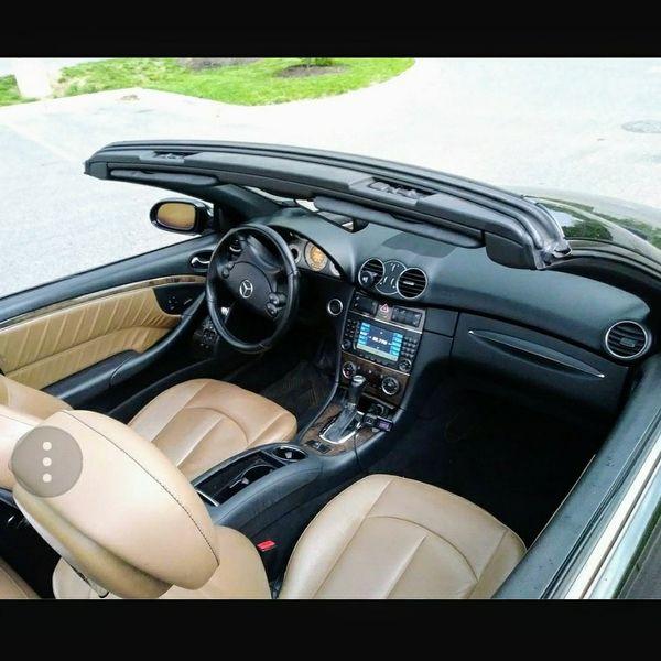 2008 MERCEDES BENZ CLK550 AMG CONVERTIBLE