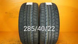 2 New tires 285/40/22 Llantas nuevas for Sale in Chula Vista, CA