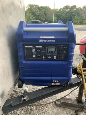 Power horse generator 3500w for Sale in Fort Worth, TX