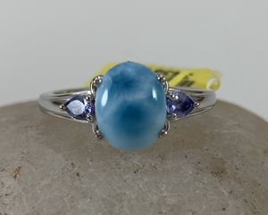 Larimar and tanzanite ring for Sale in Thornton, CO
