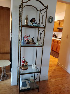 Antique Metal and Glass Shelves for Sale in Henderson, NV