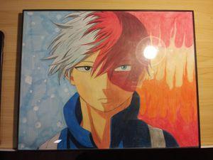 MHA Todoroki Shoto Artwork for Sale in Bloomington, CA