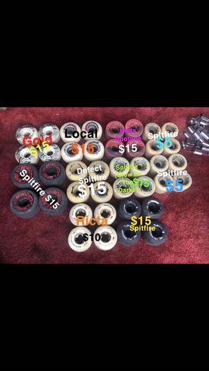 Skateboard Wheels *Read Description* for Sale in Wichita, KS