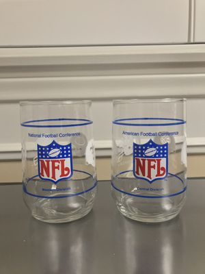NFL Glass Cups (Collectibles) for Sale in Chino Hills, CA