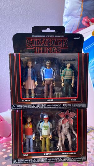 stranger things collectible action figures for Sale in Fontana, CA