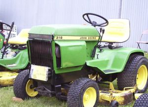 John Deere 316 318 420 Lawn & Garden Tractors Technical Manual TM1590 PDF for Sale in Wellsville, NY