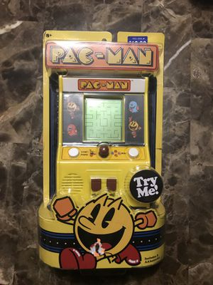 Pac-Man Mini Arcade Game Handheld Machine Vintage Nostalgia Classic Retro New for Sale in Carpentersville, IL