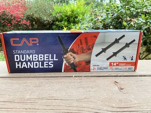 Cap Standard Dumbbell Handles weights BRAND NEW Compare with Bowflex for Sale in Alexandria, VA