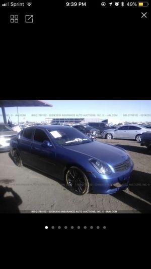 🔥🔥2005 Infiniti G35 Parts 🔥 for Sale in Phoenix, AZ