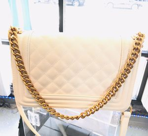 Chanel bag (Used) off white (Cream) for Sale in Brockton, MA
