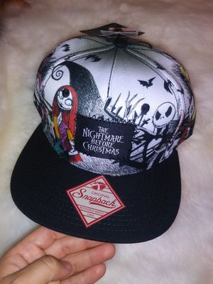 Nightmare before Christmas new Bioworld hat for Sale in Fort Worth, TX
