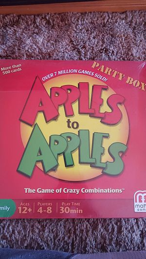 Apples to Apples for Sale in Spring Valley, CA