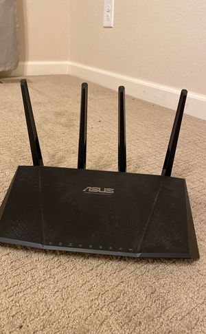 Asus wireless router, dual band gigabit for Sale in Lakewood, CO