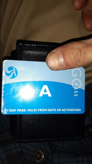 31 day buspass , un activated for Sale in Spokane, WA
