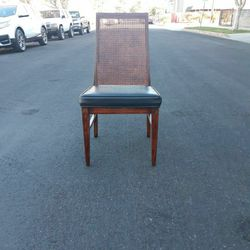 Vintage Cane Back Accent Chair for Sale in Los Angeles,  CA