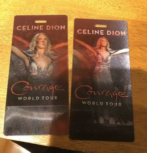 Celine Dion Courage World tour for Sale in Chicago, IL