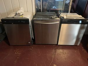 3 stainless steel dishwasher for Sale in San Antonio, TX