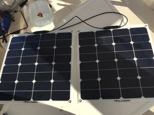 *TWO* ALLPOWERS 50W 18V 12V Solar Panels for Sale in Annapolis, MD
