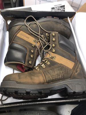 Wolverine Men's Cabor Waterproof 8'' Work Boots - Soft Toe - Dark Brown Size 7.5(M) for Sale in San Gabriel, CA
