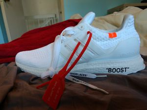 4c540fcefa67 Custom men s OFF-WHITE x Boost for Sale in New York