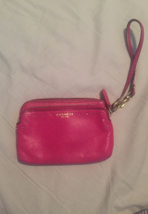 Coach wristlet for Sale in Houston, TX