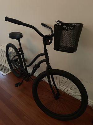 Beach cruiser bike with basket for Sale in Fort Walton Beach, FL