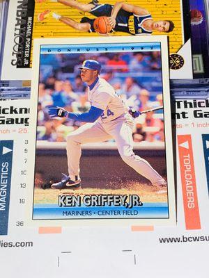 1992 Donruss #165 Ken Griffey Jr. - Seattle Mariners for Sale in San Diego, CA