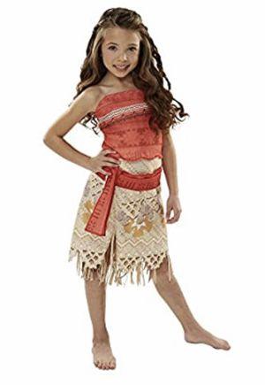 New - Moana girls 4-6 Halloween costume, Disney princess dress up for Sale in San Diego, CA