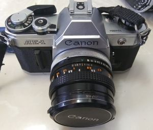 'Canon' Camera, 'Asanuma' Camera Lens & (individual cases included) for Sale in Modesto, CA