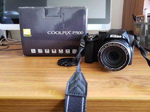 Nikon Coolpix P500 for Sale in Ontario, CA