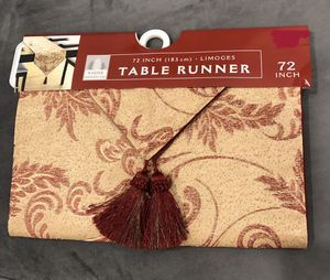 "72"" Table Runner for Sale in West Palm Beach, FL"