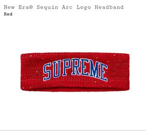 Supreme New Era Red Headband for Sale in Rockwall, TX