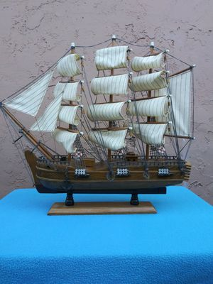 Wooden Ship Model for Sale in San Jose, CA