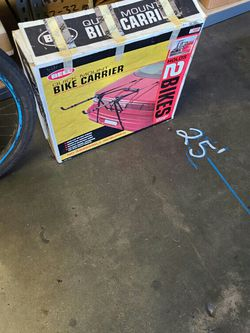 I am saleing a bike rack brand new for 2 bikes never used. for Sale in Sylmar,  CA