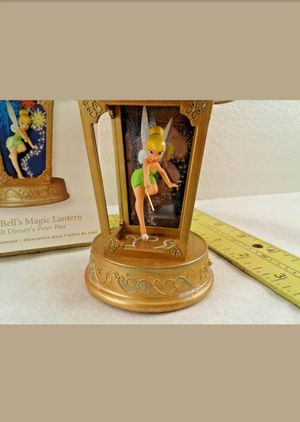 Disney Peter Pan Tinker bell Light Up Fireworks Magic Lantern with Sound New in Box for Sale in Los Angeles, CA