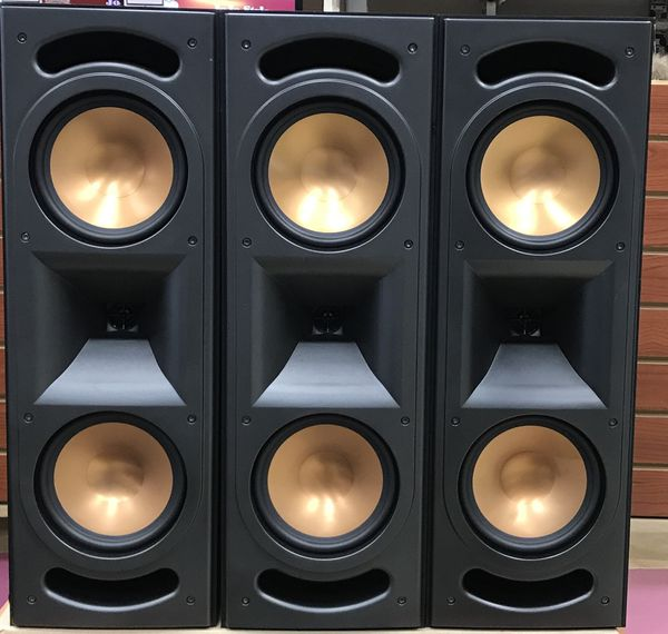 Klipsch RF35 Towers, 3 RC35 Speakers, RW 12 Subwoofer, 5.1 Home Theater Setup
