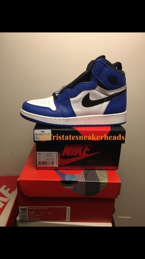 Jordan retro 1 Game Royal 1's Gs size 7y for Sale in New York, NY