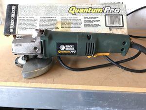 "Black & Decker Quantum Pro 4"" Angle Grinder for Sale in Sunbury, OH"