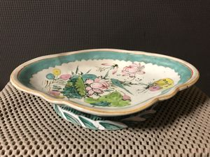 Antique Chinese Hand Painted Porcelain Plate for Sale in Kennesaw, GA