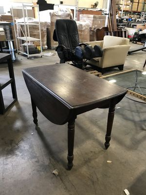 2 sided antique folding table for Sale in Farmers Branch, TX