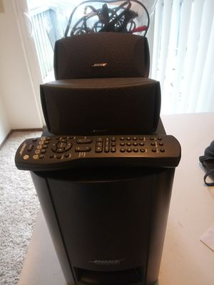 Bose Cinemate Series 2 Surround Sound Speaker Set Up for Sale in Olympia, WA