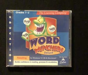 Word Munchers Deluxe old PC game for Sale in Duluth, GA