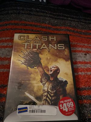 Clash of the Titans DVD for Sale in Mesa, AZ