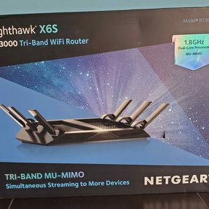 Netgear Nighthawk X6S AC3600 Tri-Band WiFi Router R7960P-100NAS for Sale in Woodbridge, VA