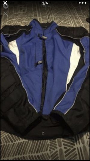 $45.00 clean motorcycle 🏍 jacket size xl has elbows shoulders and lower back pads for protection cold weather is coming for Sale in Fort Worth, TX