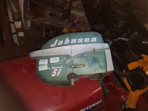 Johnson 2 cycle outboard motor for Sale in West Bloomfield Township, MI